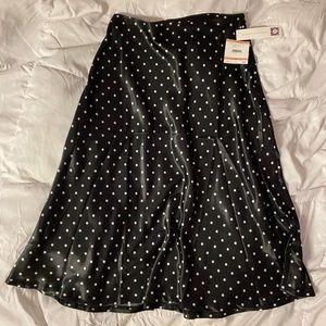 Anne Klein Midi Polka Dot Skirt